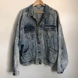 Vintage Acid Wash Guess Jean Jacket